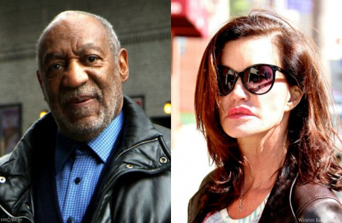 Bill Cosby and Janice Dickinson