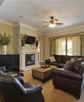 Farrah Abraham's house for sale fireplace
