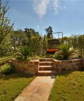 Farrah Abraham's house for sale backyard swing