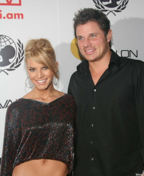 Nick lachey talks about being unable to escape ex wife jessica simpson