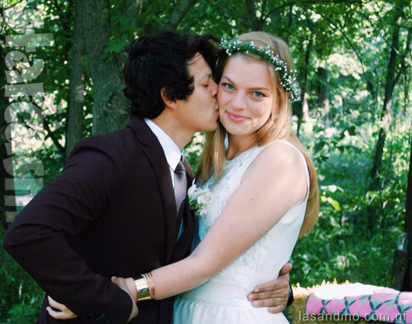 90 Day Fiance Chelsea and Yamir wedding photo