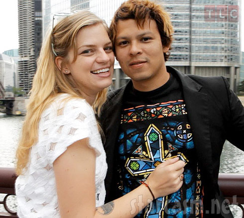 90 Day Fiance Chelsea and Yamir