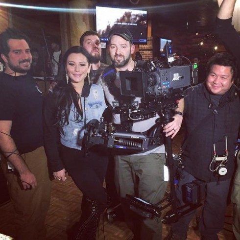 Jwoww s a movie star behind the scenes photos from the mint movie