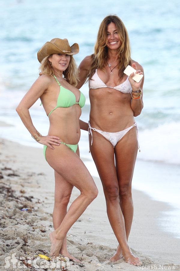 photos kelly bensimon and ramona singer are bikini besties in miami. Black Bedroom Furniture Sets. Home Design Ideas