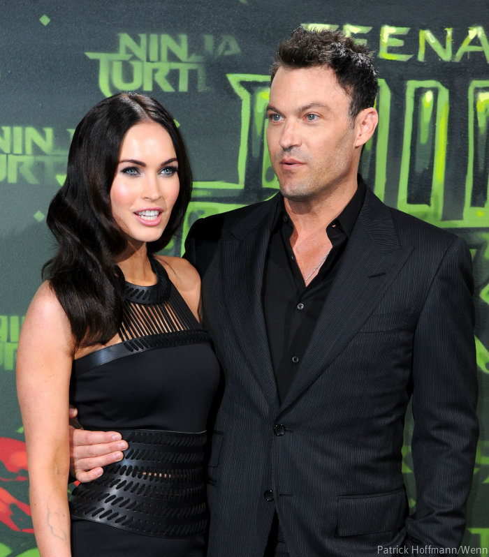 Megan Fox and Brian Austin Green shaken after collision ...
