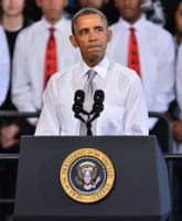 U.S. President Barack Obama and First Lady Michelle speak on importance of education in Florida