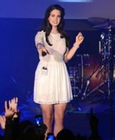 Lana Del Rey performs live at Vicar Street  Featuring: Lana Del Rey Where: Dublin, Ireland When: 26 May 2013 Credit: WENN.com