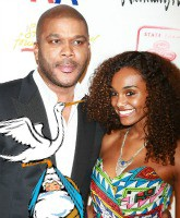 Tyler Perry and Gelila Bekele Feature