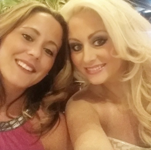 Jenelle Evans and Candy Hennessy