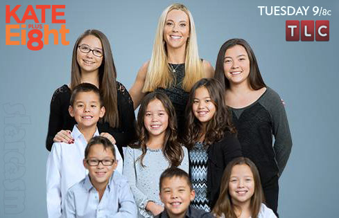 Kate Plus 8 Gosselin children photos, names and ages
