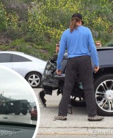 Bruce Jenner car crash Pacific Coast Highway