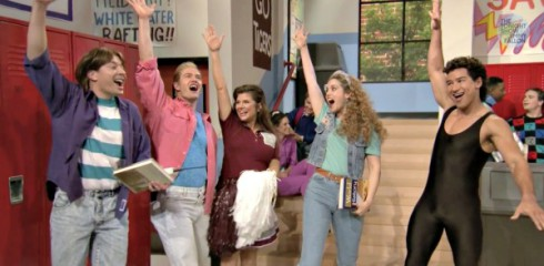 Jimmy Fallon Saved by the Bell Reunion on Tonight Show