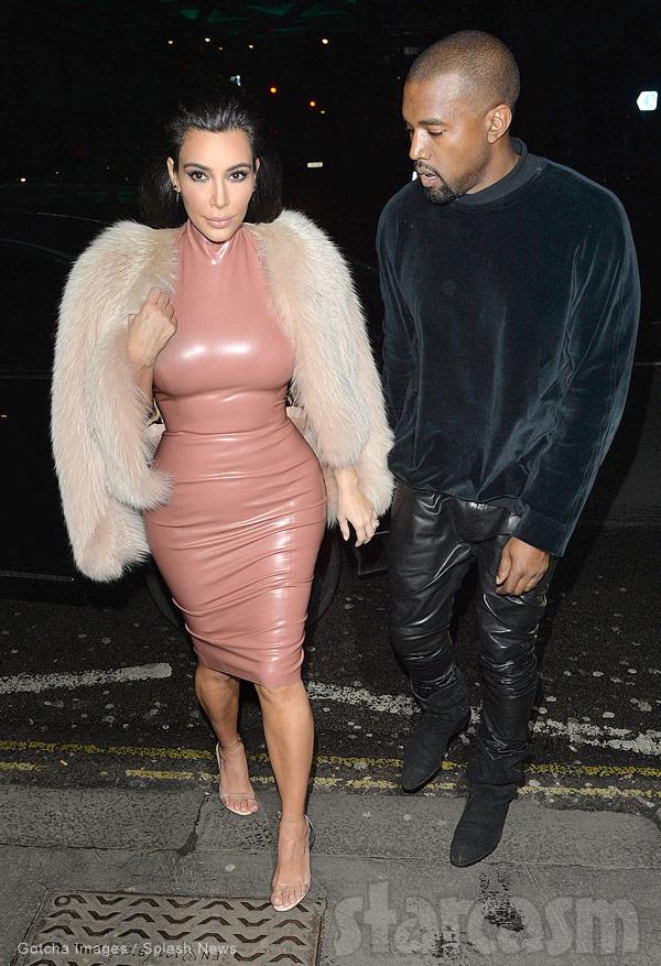 Kim Kardashian latex
