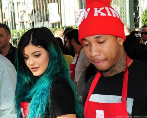 Kylie Jenner ang Tyga Together