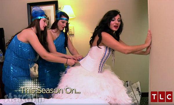 MBFAGW Season 4 Sondra Celli Corset Dress