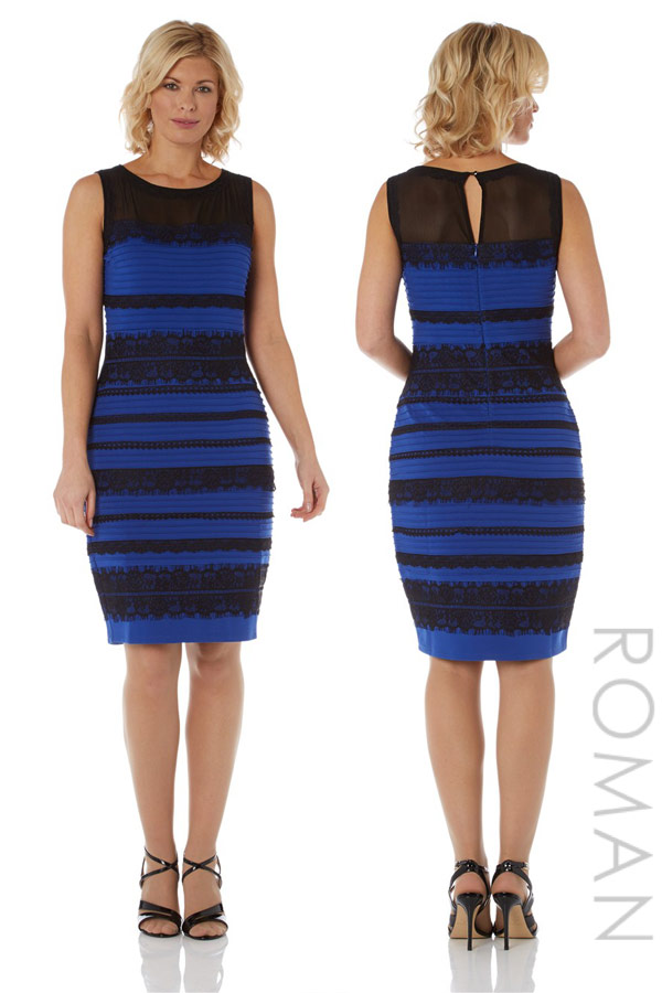 PHOTOS Proof that &-39-The Dress&-39- is black and blue- not gold and ...