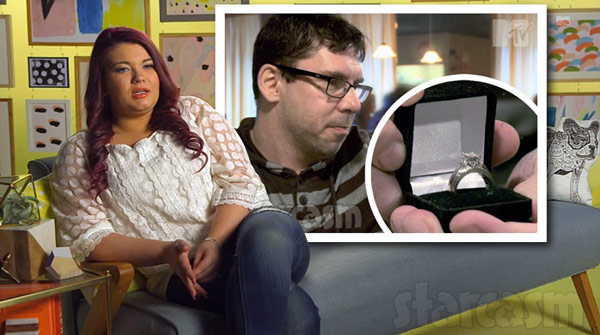 Amber Portwood was proposed by her boyfriend-turned-fiancee Matt Baier with a beautiful engagement ring