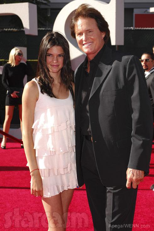Bruce Jenner Kendall Jenner together