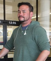 Jon Gosselin at Los Angeles International Airport (LAX)