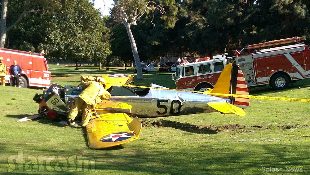 Harrison Ford S Airplanes : Update on harrison ford s condition after plane crash son