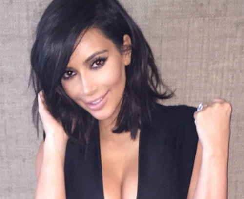 PHOTOS Check out Kim Kardashian's platinum blonde hair