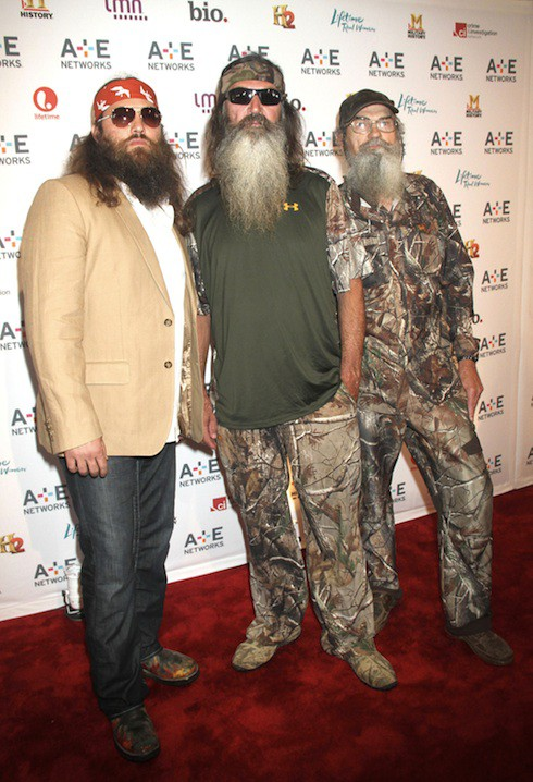 Willie Robertson, Phil Robertson and Si Robertson
