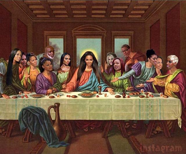 Kenya Moore As Jesus In Real Housewives Of Atlanta Last