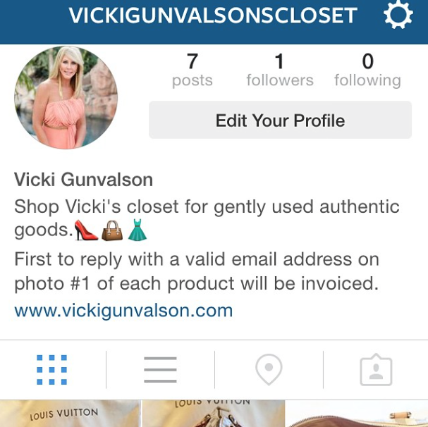 Rhoc star vicki gunvalson is selling her personal items on instagram