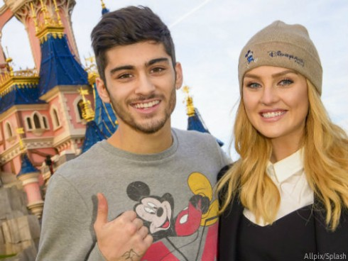 Zayn Malik and Perrie Edwards Disneyland Paris