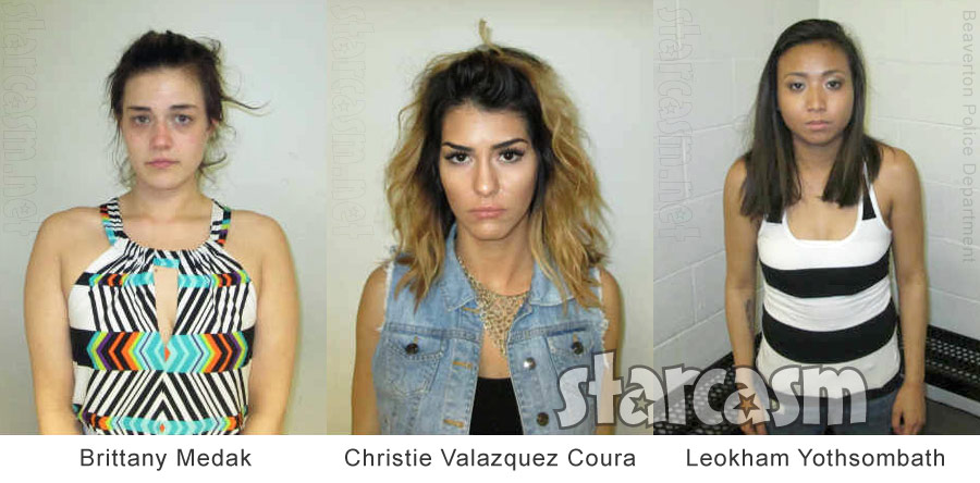 Women arrested for twerking
