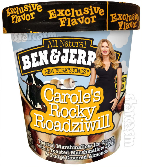 Ben & Jerry's Carole Radziwill ice cream flavor Carole's Rocky Roadziwill