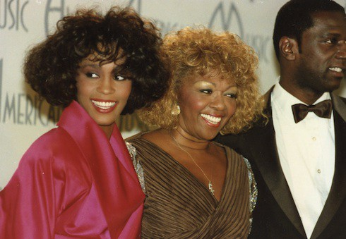 Whitney Houston, Cissy Houston, brother