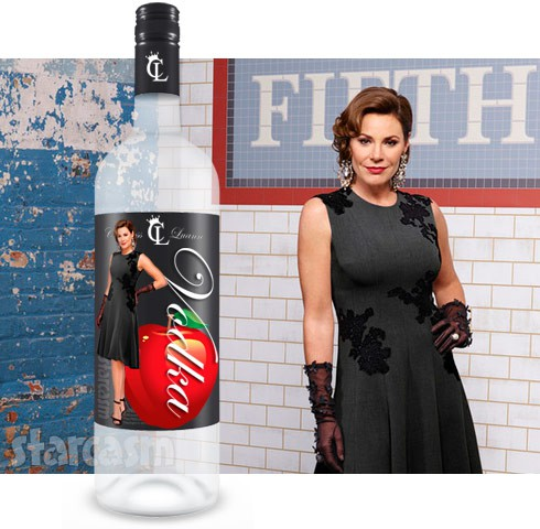 Countess LuAnn de Lesseps The Countess Collection Vodka line