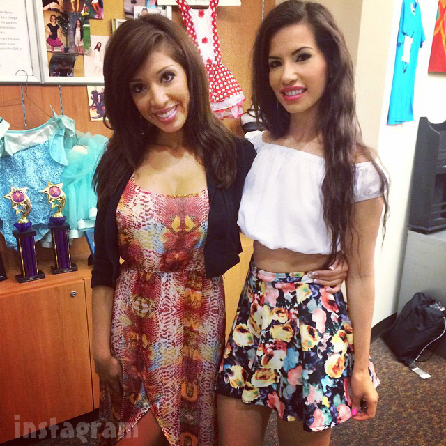 Farrah Abraham and friend Paola Quezada