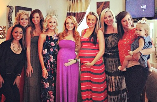 Photo of Maci Bookout & her friend   -