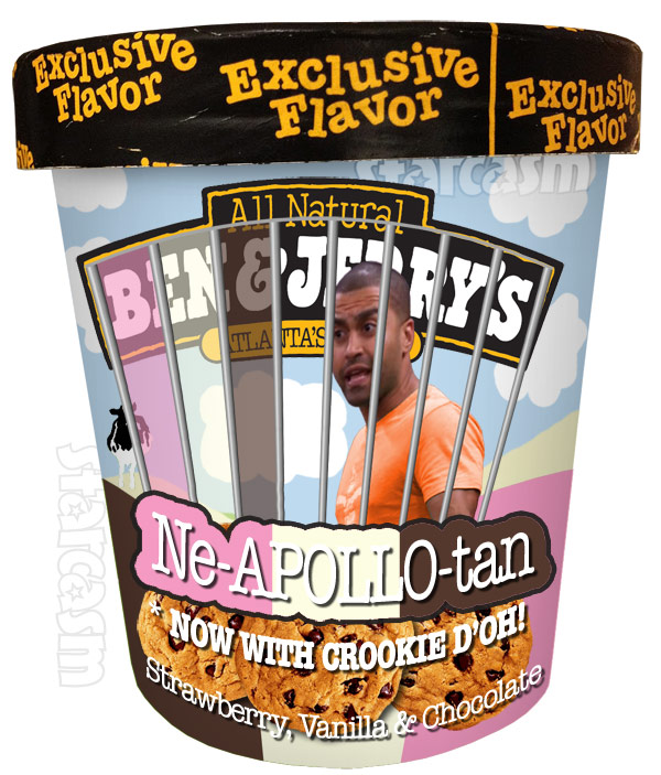 Ben and Jerry's Ice Cream flavor Ne-Apollo-tan for Apollo Nida