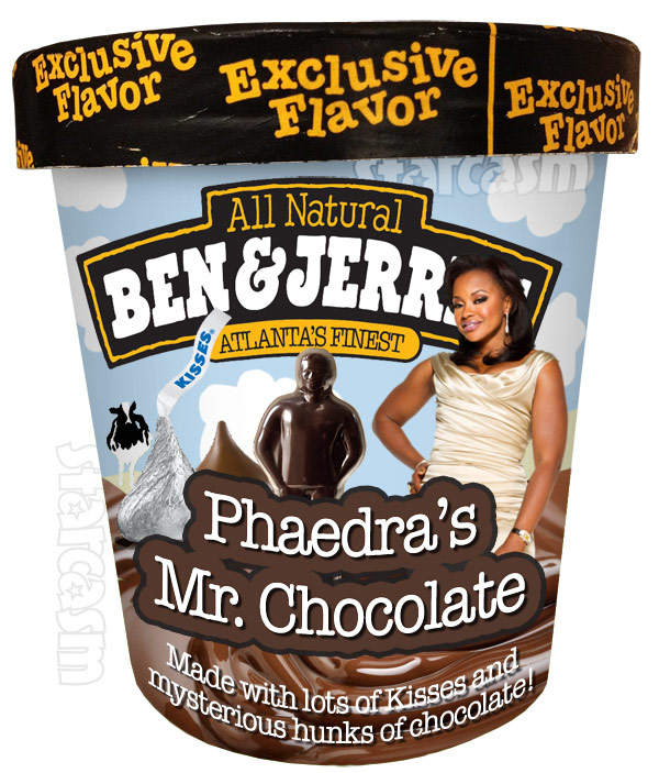 Ben and Jerry's Ice Cream flavor Phaedra Parks' Mr. Chocolate
