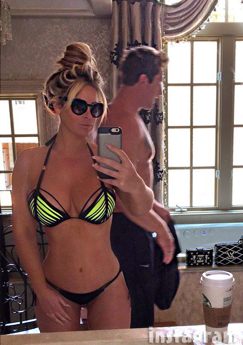 Kim Zolciak bikini May 10 2015