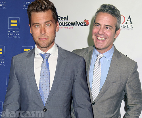 lance bass dating andy cohen and anderson