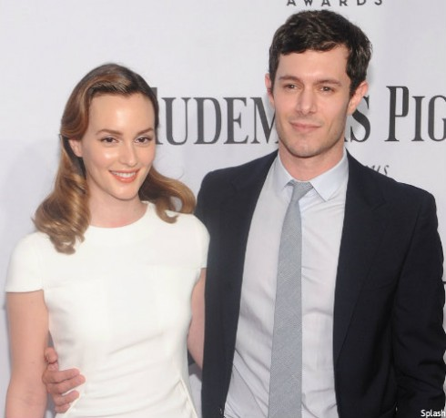 Leighton Meester and Adam Brody Together