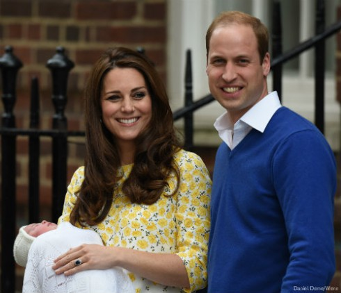Princess Charlotte of England Newborn