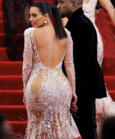 Kim Kardashian booty Met Gala - 'China: Through The Looking Glass'