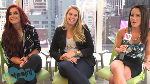 Chelsea Houska Kailyn Lowry Jenelle Evans NYC 2015 wetpaint interview