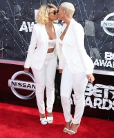 2015 BET Awards  Featuring: Amber Rose, Blac Chyna Where: Los Angeles, California, United States When: 28 Jun 2015 Credit: FayesVision/WENN.com