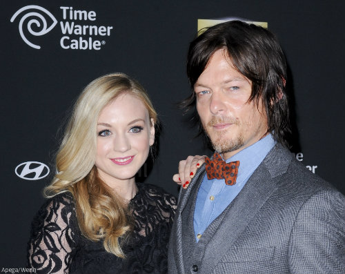 norman and emily dating The walking dead's norman reedus dined with his former co-star emily kinney at a gastropub called paper plane in decatur tmz unearthed the cosy snap - taken on may 21 - of the 46-year-old actor.