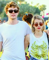 Evan Peters and Emma Roberts Feature
