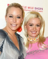 Kendra Wilkinson and Holly Madison, Grand opening of Sugar Factory at Miracle Mile Shops at Planet Hollywood Resort Hotel Casino Las Vegas, Nevada - 14.02.10  Featuring: Kendra Wilkinson and Holly Madison, Where: United States When: 14 Feb 2010 Credit: WENN
