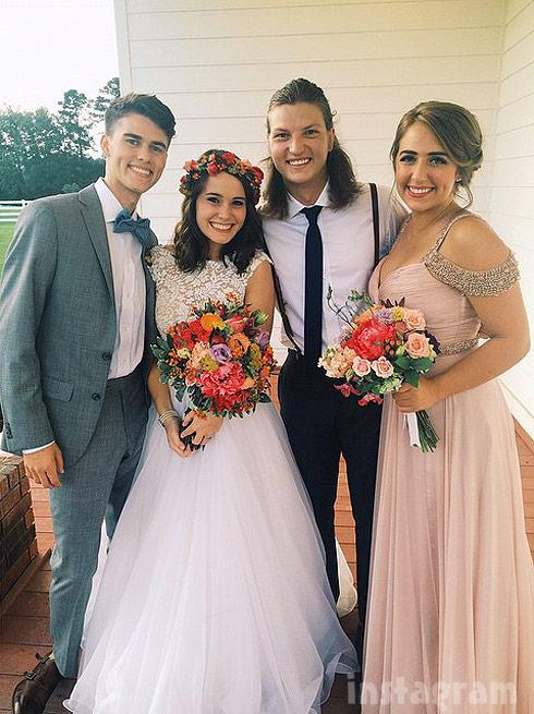 Duck dynasty luke wedding