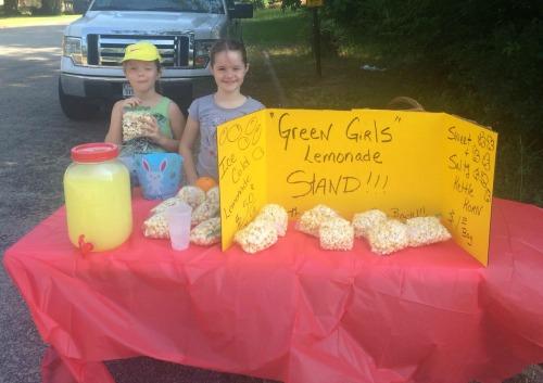 Girls Lemonade Stand Shut Down