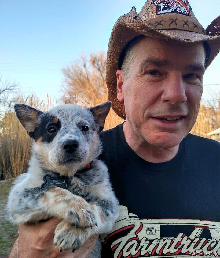 You Talk Too Loud PHOTOS Farmtruck's pup...